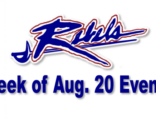 Week of Aug. 20 Athletic Events & Student Athlete News