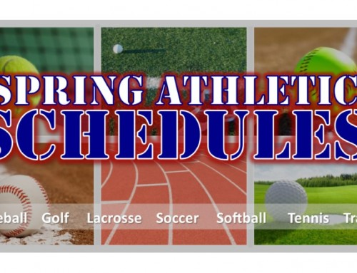 Spring Sports have sprung!