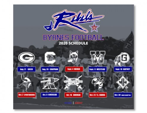 2020 Football Schedule Released