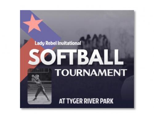 2020 Lady Rebels Softball Invitational Schedule