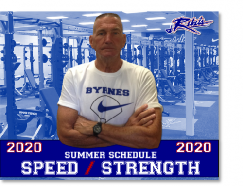 2020 Summer Speed/Strength Schedule