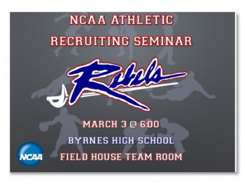 Recruiting Seminar is tonight!