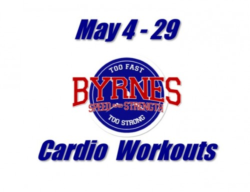 Cardio workouts for May