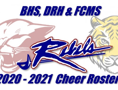 Cheer Rosters Announced