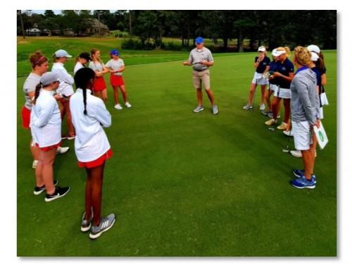 Girls JV Golf defeat Dorman