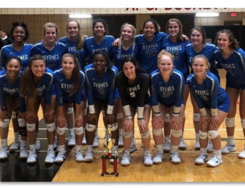 Volleyball captures Hillcrest Tournament Title
