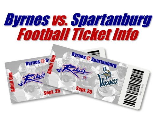 Byrnes @ Spartanburg Ticket Info
