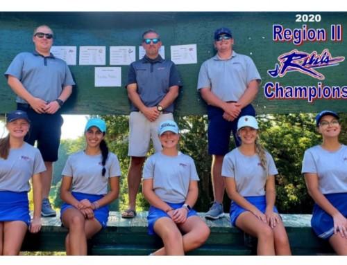 Girls Golf win Region II Championship!
