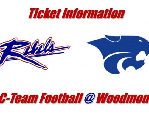 C-Team Football @ Woodmont (Oct. 22) Ticket Information