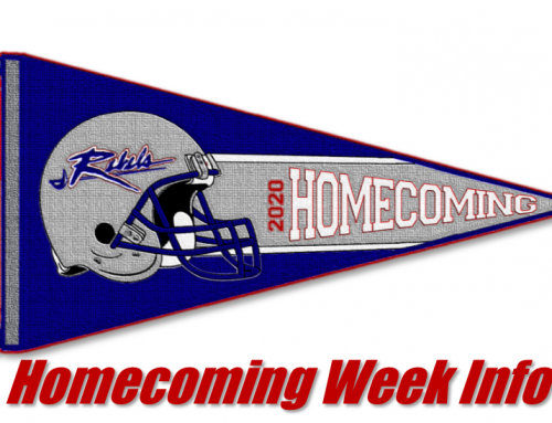 2020 Homecoming Information