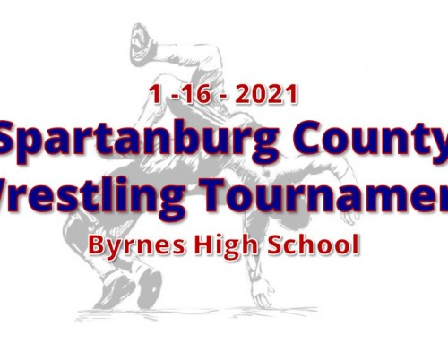 Watch the Spartanburg County Wrestling Tournament!
