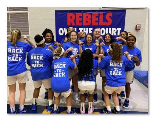 Lady Rebels win Region Championship!