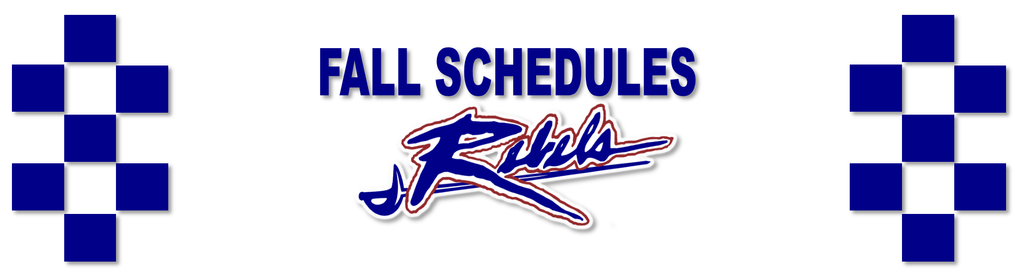 2019 Fall Schedules Released!