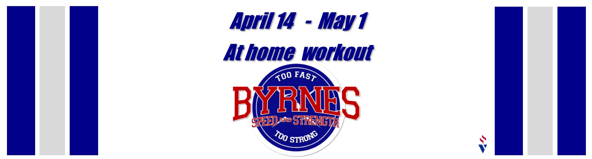 Home workouts . . . UPDATE