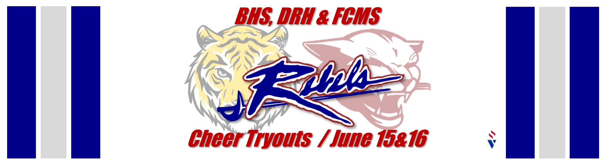 REMINDER:  Cheer tryouts begin on Monday