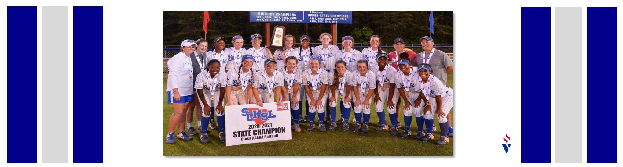 Softball wins State Title!!